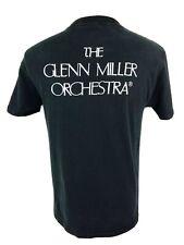 Vintage 90s The Glen Miller Orchestra Black T Shirt Men's S/M Classical Music