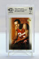 2003 Upper Deck LEBRON JAMES #29 - ROOKIE CARD RC - BECKETT BCCG 10 Mint Box Set