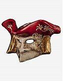 Venezianische Masken Bauta (Wandmaske) - In Venedig Handgemacht!