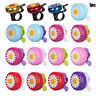 Funny Bicycle Bell Horns Bike Daisy Flower Children Girls Cycling Ring Alarm