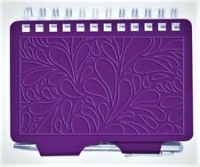 #8967 - WELLSPRING TERRACE PURPLE EMBOSSED PASSWORD ORGANIZER BOOK WITH PEN