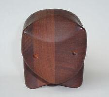 Artist Signed Wooden Cat Trinket Jewelry Puzzle Box Deborah D. Bump 1978 Kitteh!