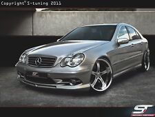 MERCEDES BENZ C CLASS W203 AMG STYLE FRONT BUMPER