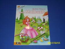 Die kleine Prinzessin Mein Malbuch mit Stickern