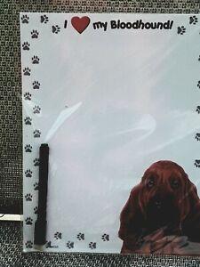 Dog Breed Dry Erase Magnetic Memo Boards/Refrigerator Magnet