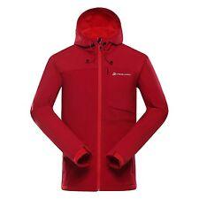 Alpine Pro Nootk 2 Herren Softshelljacke Softshell Jacke winddicht rot Gr. L