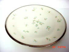 LENOX CHINA MAY FLOWERS PATTERN BUTTER PLATES (4)