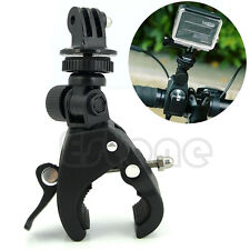 New Camera Tripod Mount+Adapter Handlebar Clamp Roll Bar For GoPro Hero 1 2 3 3+