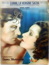CINEMA ILLUSTRAZIONE N.1 1933 LUANA VERGINE SACRA DOLORES DEL RIO JOEL MAC CREA
