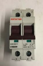 Contactum C1002SW 100A DP Main Switch Isolator Disconnector