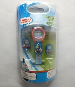 Thomas The Tank Engine & Friends LCD Bracelet Watch With Slide On Characters