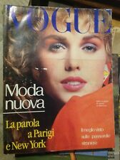 VOGUE ITALIA N°385 1982 VALENTINO MODA VINTAGE FASHION PARIGI NEW YORK