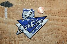 "Tampa Bay Lightning 3 3/4"" Banner Logo Patch Crest Hockey B"