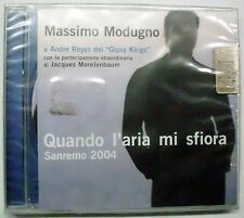 MODUGNO MASSIMO GIPSY KINGS QUANDO L'ARIA MI SFIORA CD SEALED