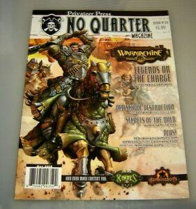 No Quarter Magazine #18 Warmachine Hordes Privateer Press....