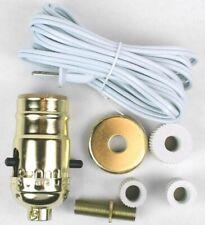 Kit Make A Lamp Brass Finish,No 60131, Jandorf Specialty Hardware, 3Pk