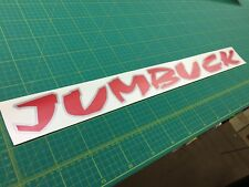 Proton Jumbuck Arena pickup tailgate decals stickers graphics 2002 - 2010