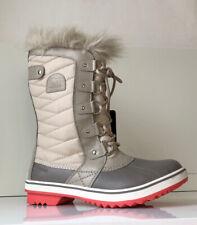 NEW SOREL Tofino II Women's 8 CVS Fawn Waterproof Canvas Leather Boot MSRP: $170