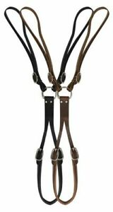 Leather Tail Crupper Endurance Mule Horse Driving Training Surcingle Made in USA
