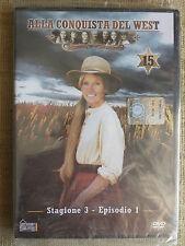 Alla conquista del West numero 15 - Stagione 3 Episodio 1 - DVD nuovo sigillato
