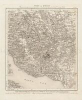 MAP AMMAN 19TH CENTURY SWABIA FRIEDRICHSHAFEN LARGE REPLICA POSTER PRINT PAM0521