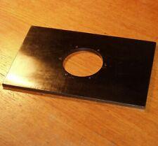 LENS BOARD BLACK for PRO CAMERA 228x146mm vintage UK