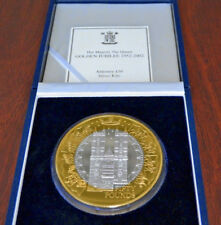 2002 Queen Elizabeth II Proof Medal 1000 Grams .999 Silver Fine Gold - Very Rare