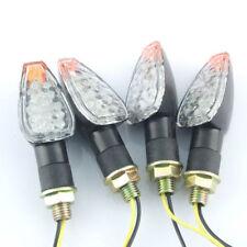 4x Motorcycle bike Dual Sport supermoto Turn Signal 14 LED blinker for HONDA