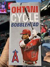 Shohei Ohtani Cycle Bobblehead La Angels 7/16/21 in-hand