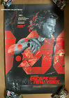 Escape From New York VARIANT Screen Print Poster #109/125  by MARTIN ANSIN Mondo
