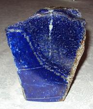 Lapislazuli Anschliff Skulptur 2,4kg blau Afghanistan