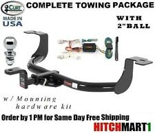 "FITS 2008-2012 HONDA ACCORD SEDAN CURT TRAILER HITCH PACKAGE   w 2"" BALL"