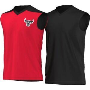 Adidas Basketball Vest NBA Chicago Bulls AH5047, sizes S or M