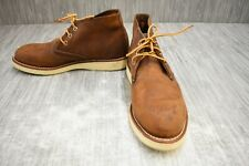Red Wing Heritage Work (3137) Chukka Boot - Men's Size 8D - Brown