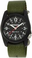 Bertucci Men's 11016 Analog Display Analog Quartz Green Watch