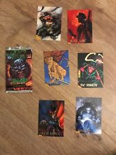 Batman Villains X6 Cards And Packet Skybox 1995