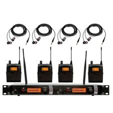 Professional Wireless In-ear Monitor System for Stage Performance Microphones