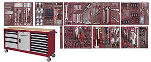 KRAFTWERK 3936-4920 COMPLETO Werkstattwagen EXTRA LARGO Werkbank 561 t Werkzeug