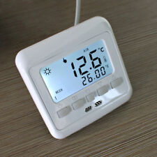 Floureon BYC08.H3 16A White LCD Display Thermostat 5 2/ 6 1/ 7days programmable