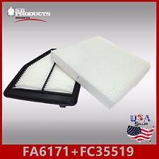 FA6171 FC35519 CA11113 CF10134 ENGINE & CABIN AIR FILTER ~ 2012-15 CIVIC 1.8L