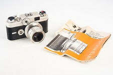 Argus C 44 Forty Four R 35mm Film Rangefinder Camera with 50mm Lens & Manual V11