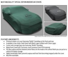 2018-20 Ford Mustang Official Bullitt Indoor Custom Cover by Covercraft Aust