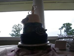 ✿ Wilton First Kiss Couple Bride Groom Wedding Cake Topper Decorating Baker New