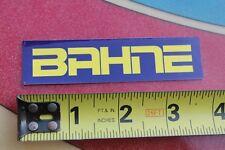 BAHNE Skateboards JA Retro Reprint Surfboard Fin System Skateboarding STICKER