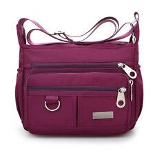 Women Zipper Waterproof Nylon Shoulder Bag Crossbody Handbag Tote Messenger CA