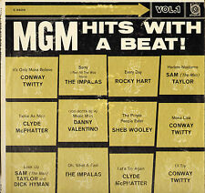 "CONWAY TWITTY / IMPALAS / ROCKY HART / C. McPHATTER ""MGM HITS"" LP 1960 MGM E3826"