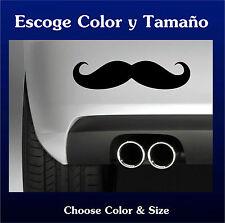 Sticker Vinilo - Moustache - Bigote - Vinyl - Pegatina - Coche - Autocollant