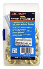 "103-pc 1/2"" Grommet Eyelet Installation Kit w. Tools for Light Duty Applications"