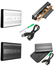 "BOX PER HARD DISK SATA 2,5"" CASE HD DRIVE ESTERNO HDD DISCO PORTATILE USB 2.0"
