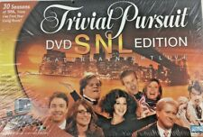 FACTORY SEALED!! Trivial Pursuit DVD SNL Edition Board Game Adult